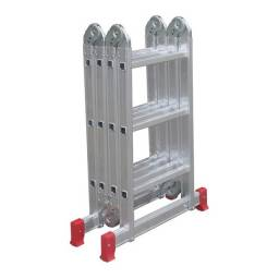 Título do anúncio: Escada articulada 13 em 1 de aluminio 4x4 degraus - Botafogo
