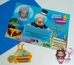 Convites Simples (com envelopes) a partir de $1,00