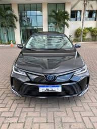 Título do anúncio: Corolla Altis Hybrid Premium 21 com teto solar