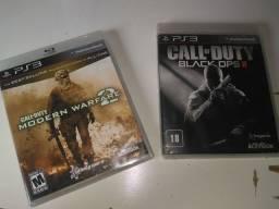 Dois jogos de call of duty PS3