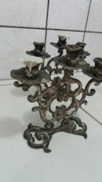 Par castical de bronze