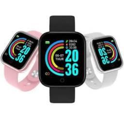 Relógio smartwatch D20 60 reais com um lindo brinde
