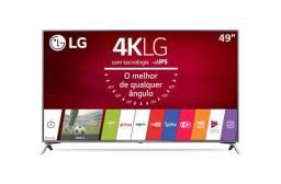Televisão 49'' LG Ultra HD 4K TV   49UJ6525<br><br>(PARA RETIRADA DE PEÇAS)