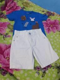 Vendo conjunto de roupas semi nova no tamanho 2 3 e 4 anos