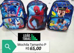 Mochila Infantil Bebe Kids Criança Passeio Creche P