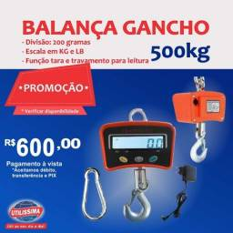 Título do anúncio: Balança Digital 500kg de Gancho ? Entrega grátis