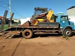 Vendo ou troco caminhão 1113 toco prancha