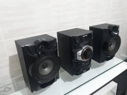 Som Samsung Giga Sound Blast Com Subwoof E Controle