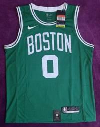 Camisa da NBA Boston Tatum 0 (disponível: G)