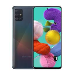 Samsung Galaxy A51 128GB com pequeno trinco na tela.