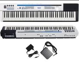 Título do anúncio: Piano digital Casio Privia Px5s Teclado sintizador Arranjador