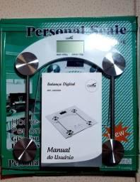 Balança Digital Banheiro Vidro Temperado 180 Kg- Personal scale<br><br>