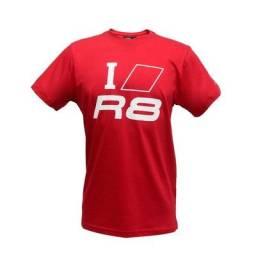Camiseta Masculina I Love R8 Audi Sport