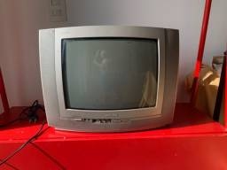 TV + Conversor / TV Tubo Pequena  (Leia Descrição)
