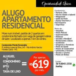 Alugo Apartamento Residencial