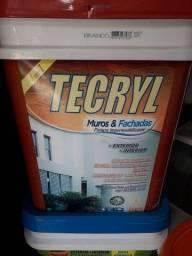 Tecryl impermeabilizante 4 em 1 muro e fachadas