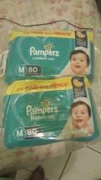 Título do anúncio: Fraldas Pampers Confort sec