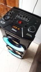 caixa de som portátil Philco pht 10000