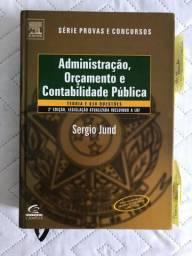 Livro Administração, Orçamento e Contabilidade Publica