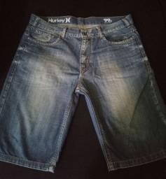 Bermuda jeans Hurley 44 sepá 42