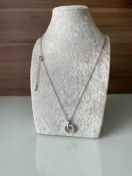 Colares femininos aço cirúrgico puro melhor que prata nunca fica preto