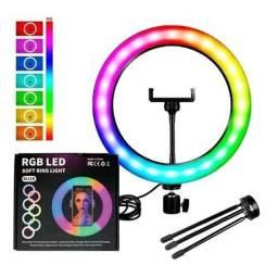 PROMO: Ring Light RGB + Frete Grátis JP