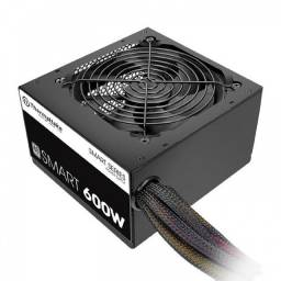 Fonte Atx Thermaltake 600w Smart Series 80 Plus Pfc Ativo