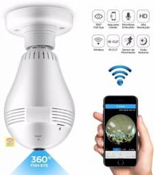 Título do anúncio: Camera ip Seguraça Lampada vr 360Panoramica C/visão noturna