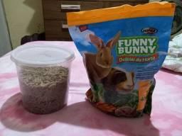 Ração marca Funny Bunny 500gr