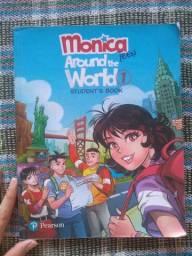 Livro de inglês- Turma da Mônica