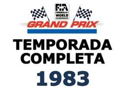 Formula 1 Temporada 1983 Completa Em Dvds