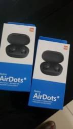 Fone de Ouvido Air Dots Redmi Bluetooth [Novo na caixa]