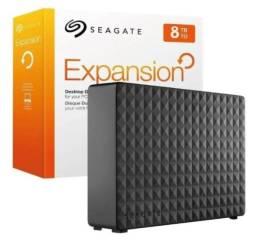 HD Externo Seagate Expansion 8tb - Lacrado