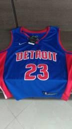Camisa de basquete DETROIT PISTONS