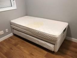 Bicama box solteiro vira cama de casal na mesma altura Marca MGA Ótimo estado