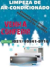 Título do anúncio: Limpeza de ar condicionado