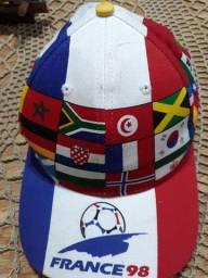 Boné Copa Mundo França 98