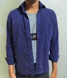 Camisa masculina Tam 15 anos (P)