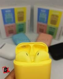 Fone De Ouvido Tws I12 Via Bluetooth