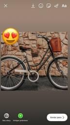 Bicicleta retro vintage linda