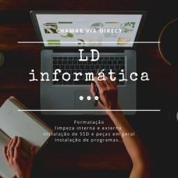 Título do anúncio: Formatação e limpeza de computadores e notebooks