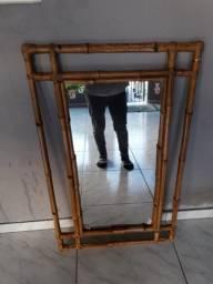 Espelho em bambú