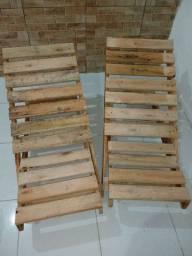 Cadeiras pra bronzeamento