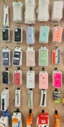 Capas para iphone de silicone - Loja fisica