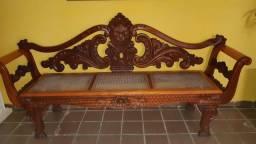 Título do anúncio: Conjunto marquesão em madeira maciça