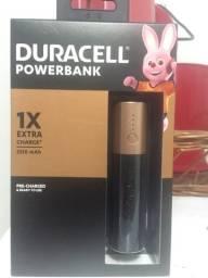 Carregador portátil DURACELL powerbank NOVO