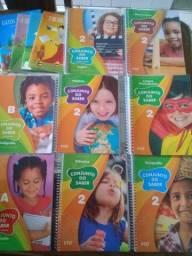 Kit completo conjunto do saber 2º ano ensino fundamental (ftd)