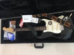 Amplificador Marshall e Guitarra Fender Americana
