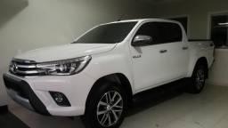 Toyota Hilux SRX 2018/18 zera branca - 2018