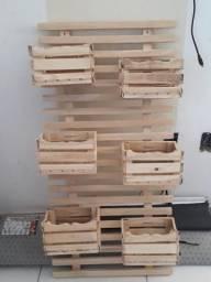 NOVA: Treliça de madeira para jardim/horta vertical
